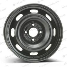 ALST (KFZ) 8055 Peugeot 6x15 4x108 ET23 DIA65 Black